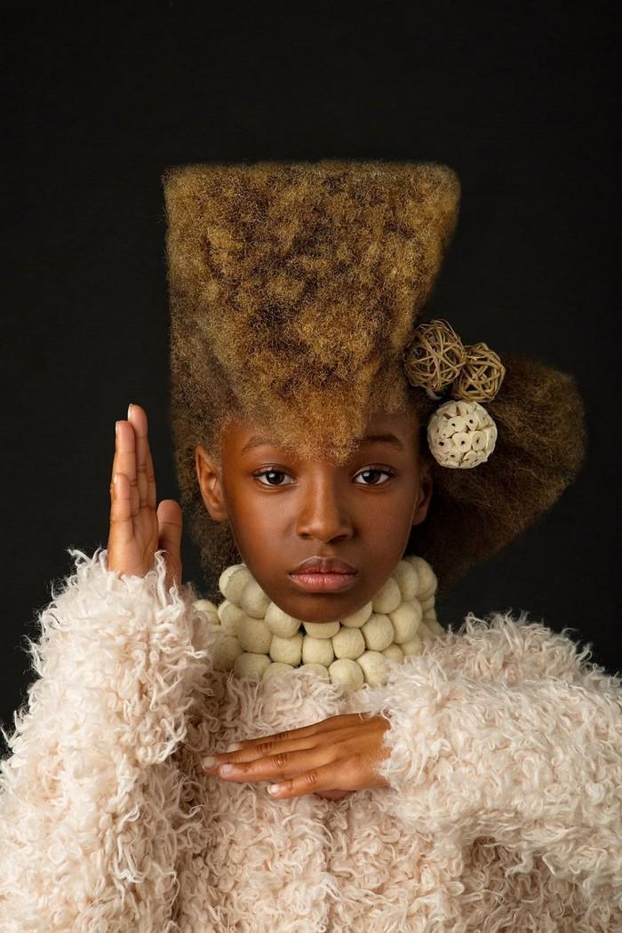 Ensaio fotográfico para ressaltar a beleza do cabelo afro 8