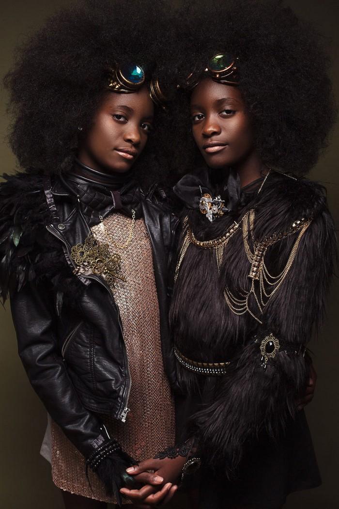 Ensaio fotográfico para ressaltar a beleza do cabelo afro 9