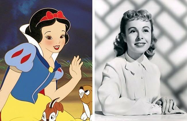 Pessoas reais que inspiraram personagens de desenhos animados 6