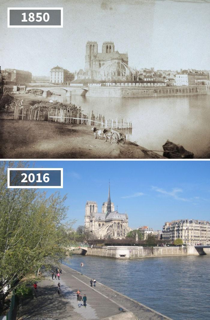 antes e depois