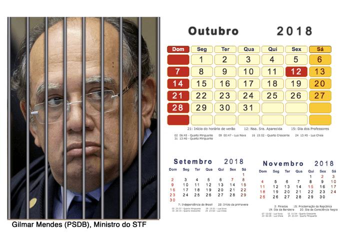 Calendário 2018 Políticos Presos (10)