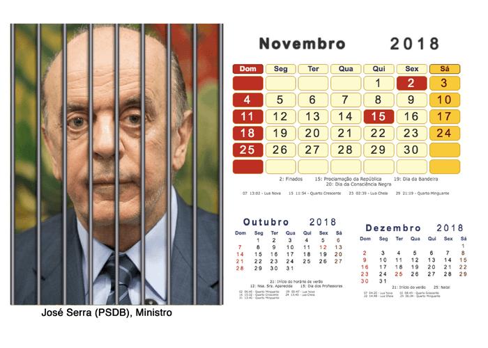 Calendário 2018 Políticos Presos (11)