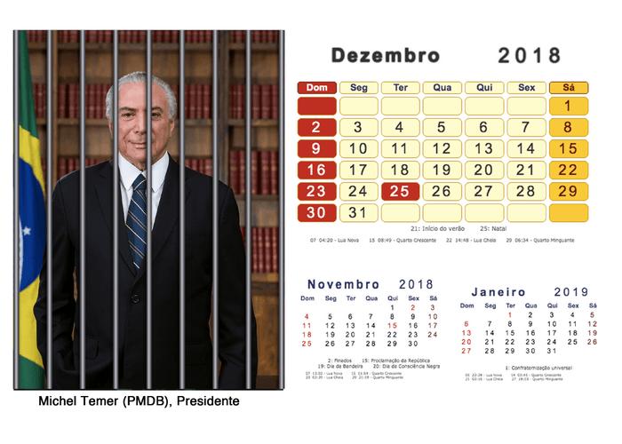 Calendário 2018 Políticos Presos (12)