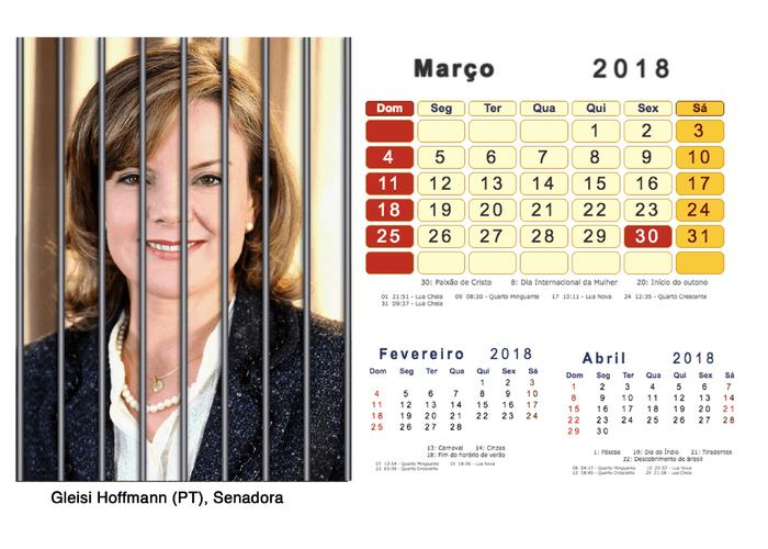 Calendário 2018 Políticos Presos (3)
