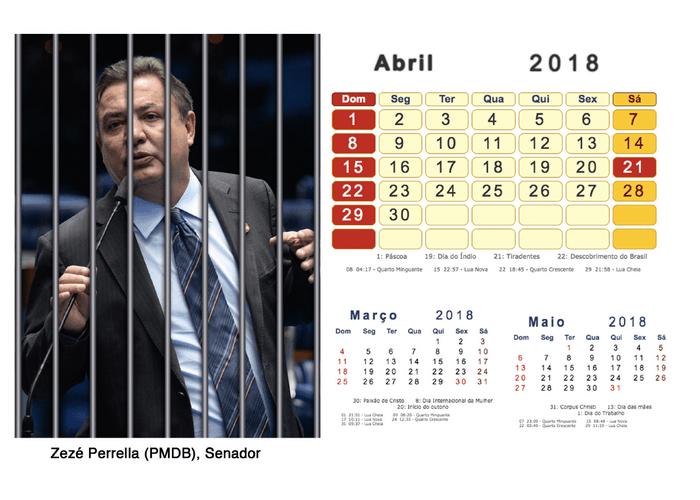 Calendário 2018 Políticos Presos (4)