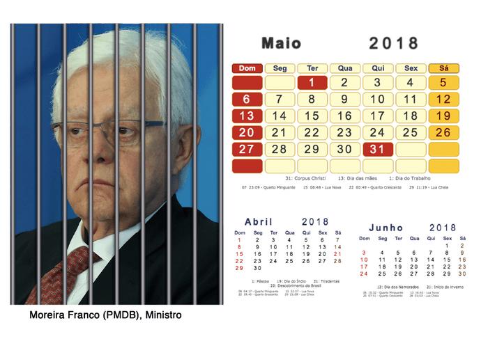 Calendário 2018 Políticos Presos (5)