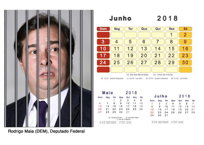 Calendário 2018 Políticos Presos (6)