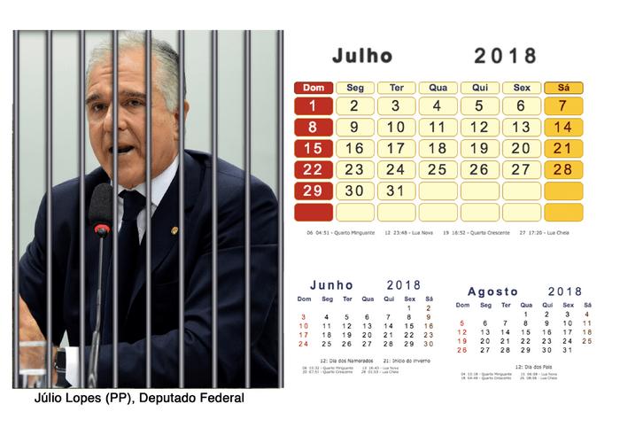 Calendário 2018 Políticos Presos (7)