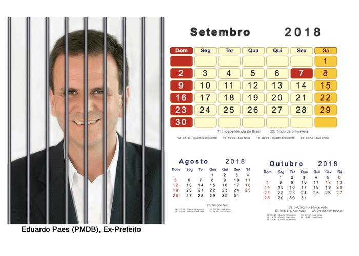 Calendário 2018 Políticos Presos (9)