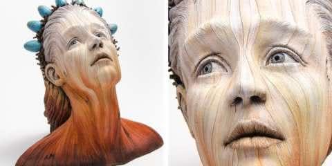 Escultor confronta nossa relação com a natureza através de esculturas surreais