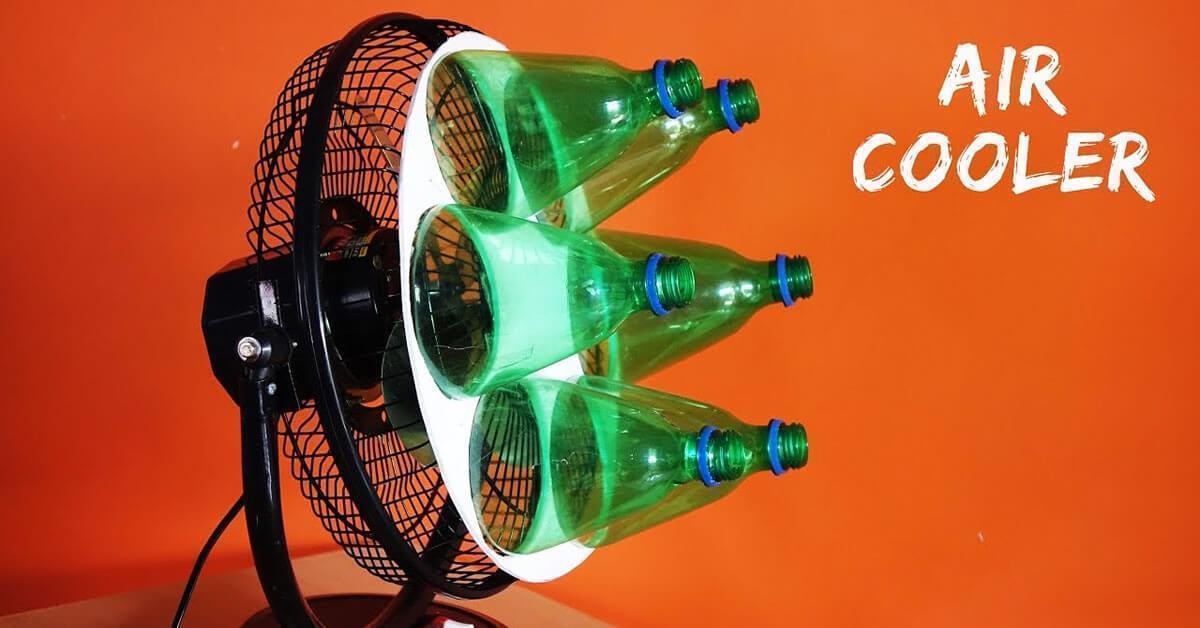 Adeus Ao Calor Veja Como Transformar Um Ventilador Em Ar Condicionado