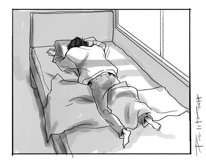 Artista explica porque a depressão deixa as pessoas tão cansadas 1