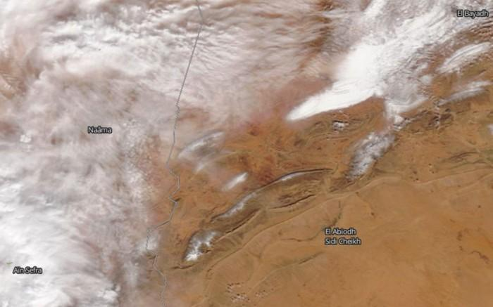 Neve no deserto do Sahara (10)