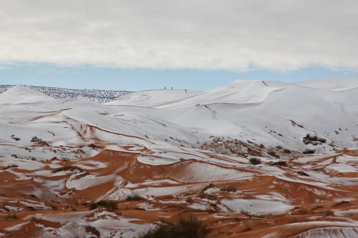 Neve no deserto do Sahara (9)