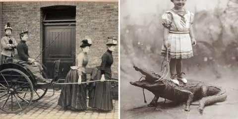 38 fotos antigas tão esquisitas que nem mesmo você irá entender