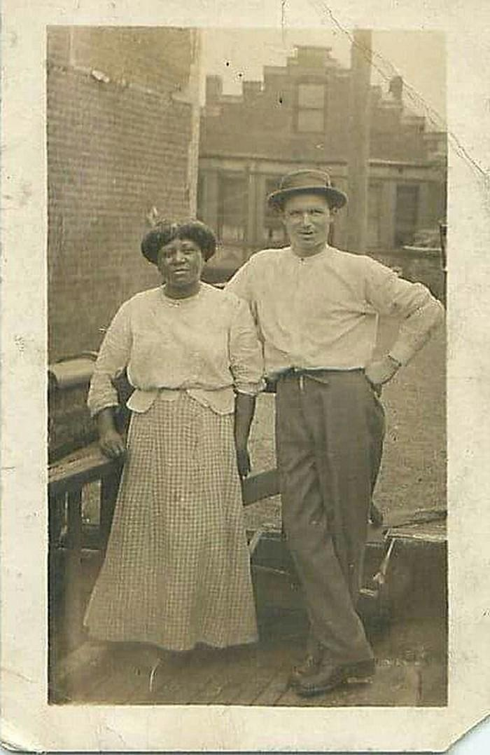Casais inter-raciais do século 19 (2)