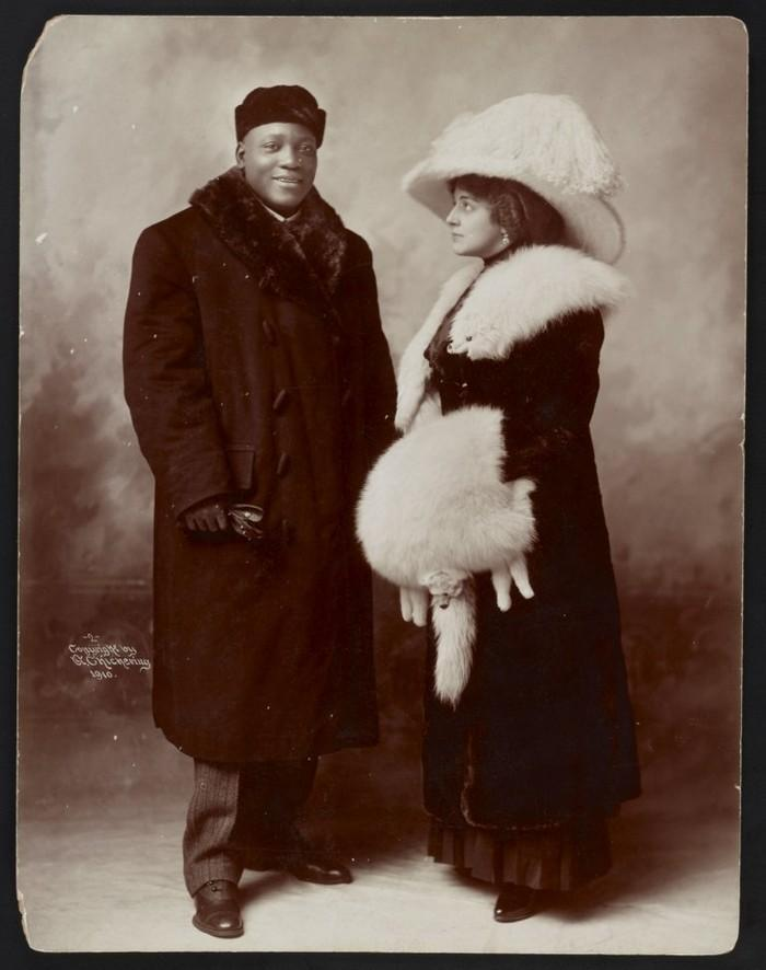 Casais inter-raciais do século 19 (1)