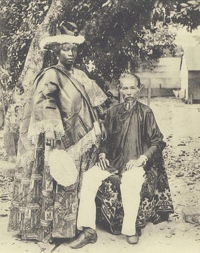 Casais inter-raciais do século 19 (3)