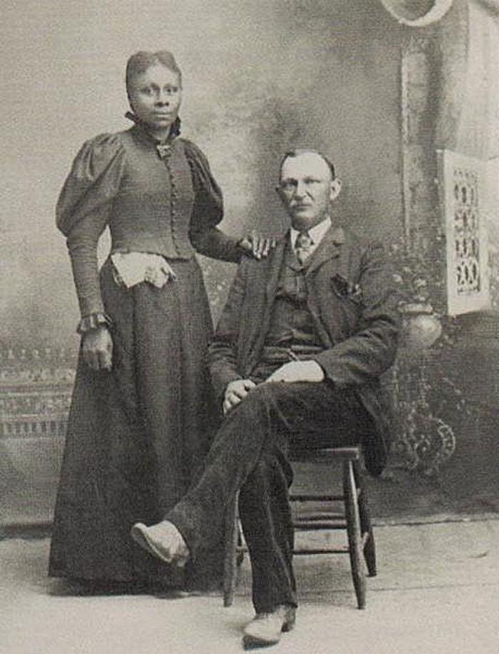 Casais inter-raciais do século 19 (9)