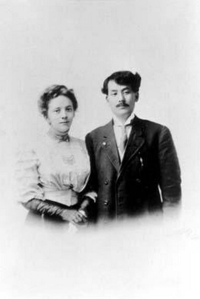 Casais inter-raciais do século 19 (6)