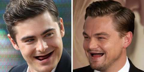 23 montagens divertidas de celebridades sem os dentes