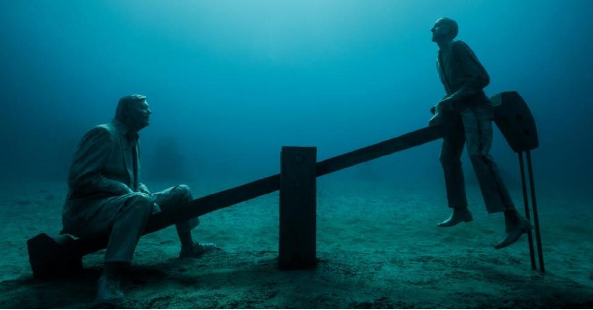 17 esculturas aquáticas que você provavelmente nunca viu