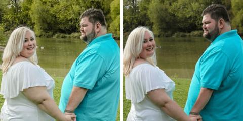 Noiva acusa fotógrafa de 'fat shaming' por causa de Photoshop em foto