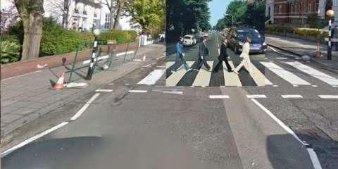 Conta do twitter acha os locais de capas famosas no Google Street View