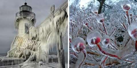 29 formações de gelo e neve tão incríveis que parecem até obras de arte