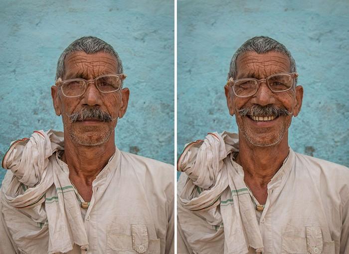Fotógrafo registra sorriso de estranhos (2)