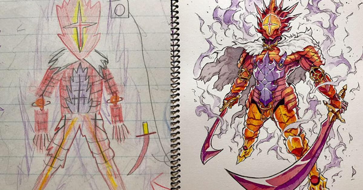 Pai transforma desenhos dos filhos em incr veis - Imagens em hd de animes ...