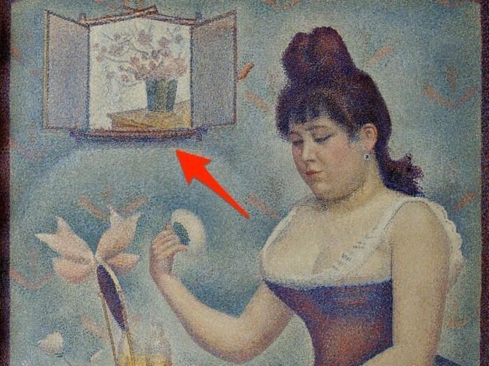 Mensagens escondidas em obras de arte famosas 12