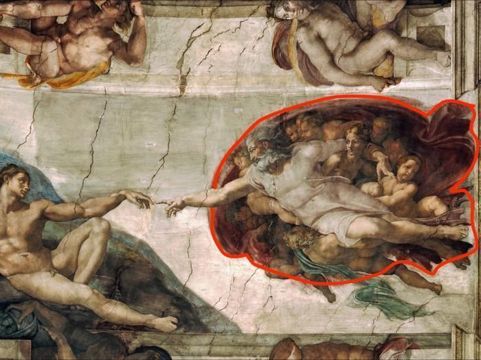 Mensagens escondidas em obras de arte famosas 1