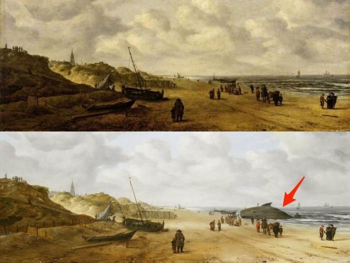 Mensagens escondidas em obras de arte famosas 6