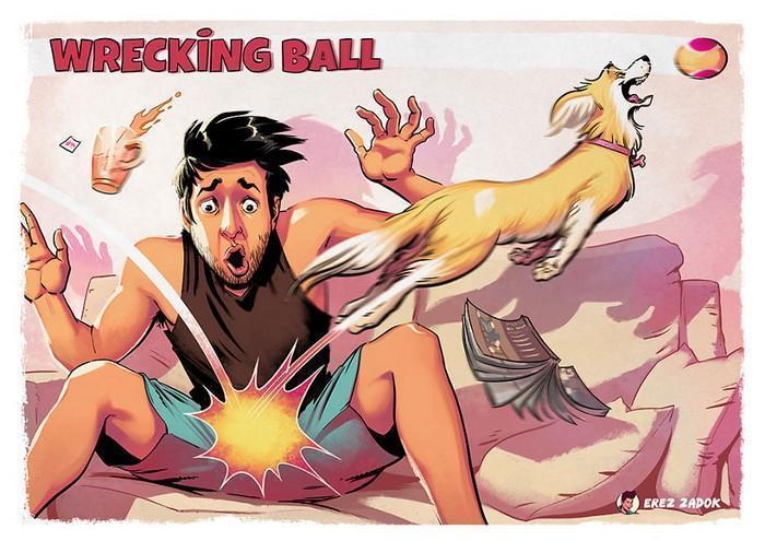 Ilustrador cria quadrinhos da sua cachorra (20)