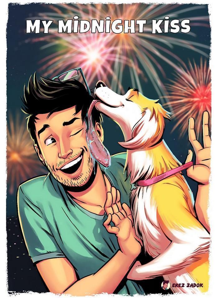 Ilustrador cria quadrinhos da sua cachorra (8)