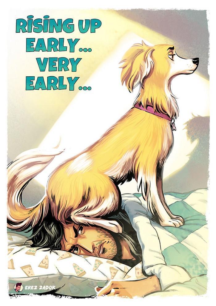 Ilustrador cria quadrinhos da sua cachorra (7)