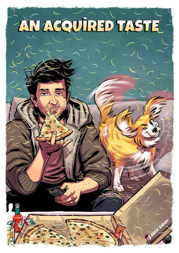 Ilustrador cria quadrinhos da sua cachorra (5)