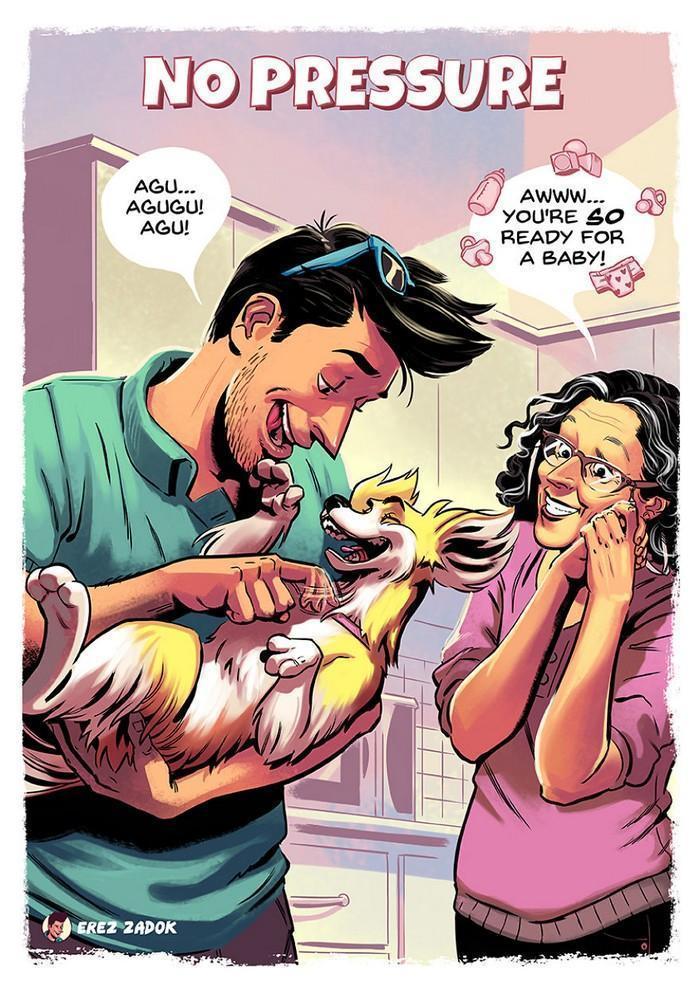 Ilustrador cria quadrinhos da sua cachorra (4)