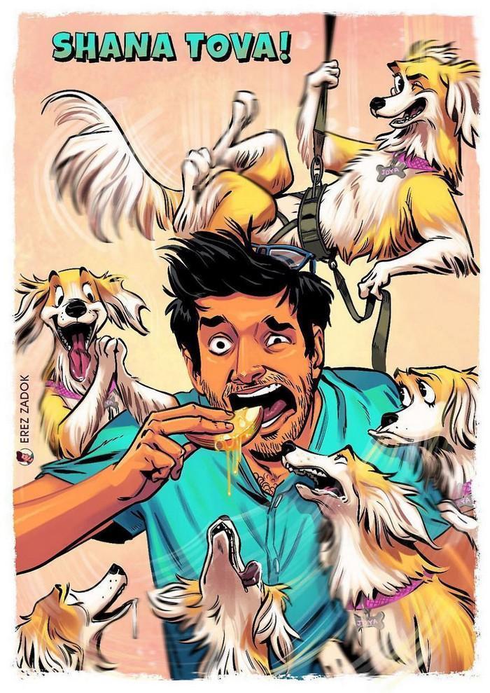 Ilustrador cria quadrinhos da sua cachorra (2)