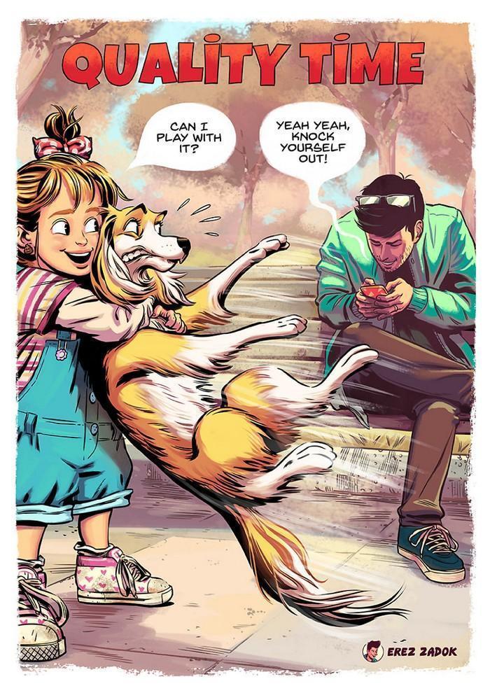 Ilustrador cria quadrinhos da sua cachorra (1)