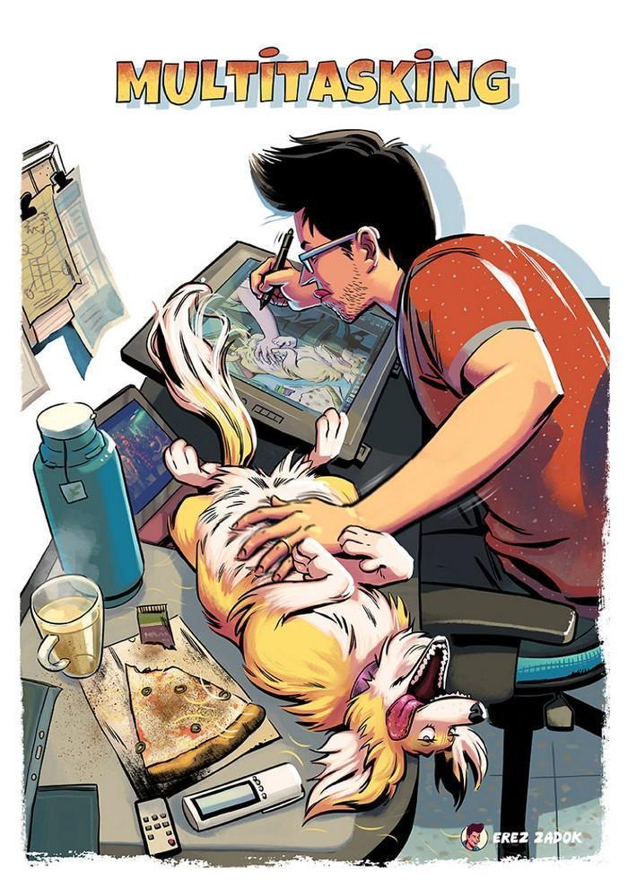 Ilustrador cria quadrinhos da sua cachorra (15)