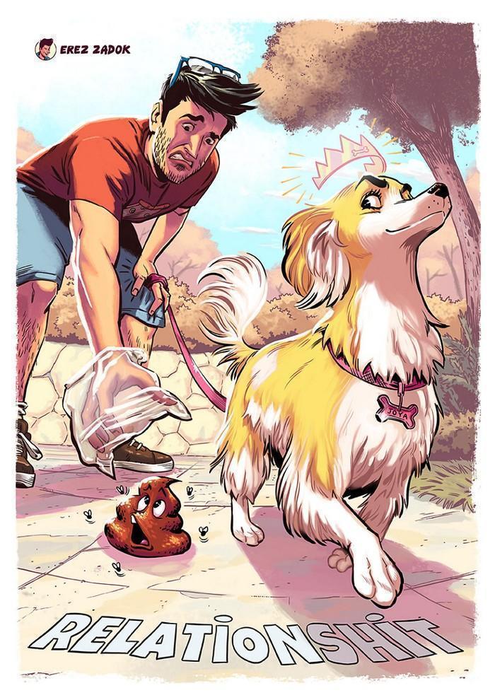 Ilustrador cria quadrinhos da sua cachorra (12)