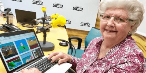 Vovó de 87 anos faz desenhos incríveis utilizando o Paint