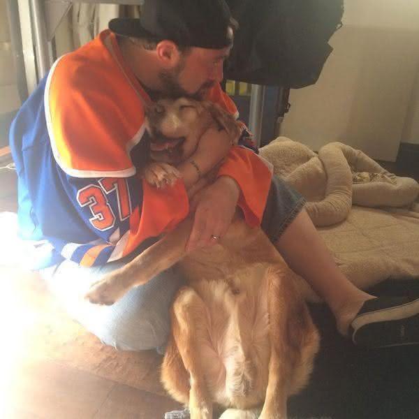 O triste adeus de um diretor de cinema ao seu cão (1)