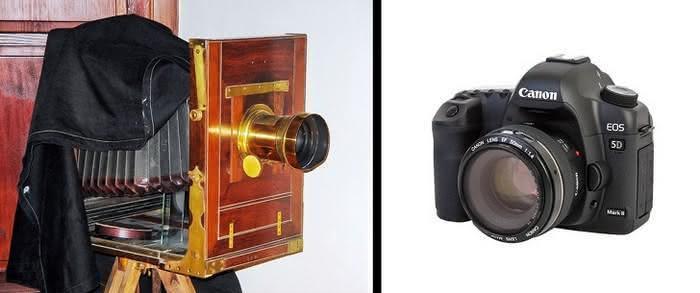 objetos do passado