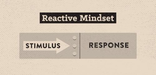 Torne-se uma pessoa mais proativa e menos reativa