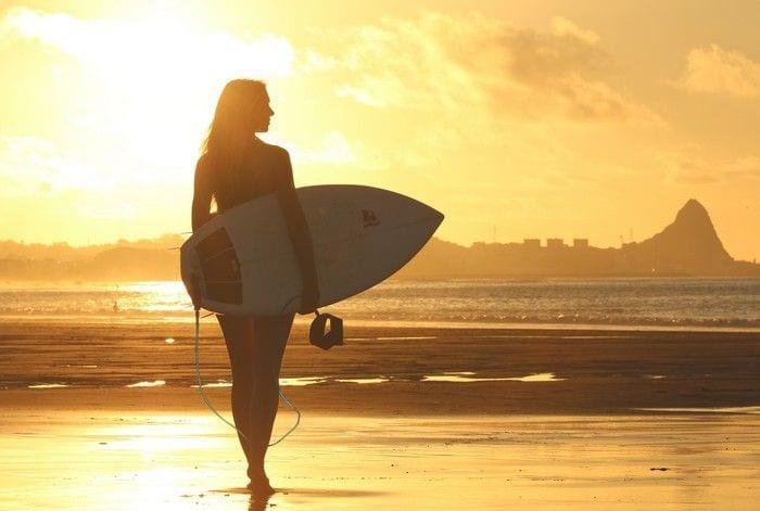 Benefícios da praia