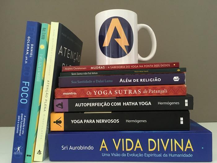 livros meditação