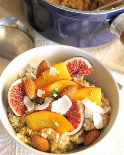 cafe da manha saudavel mingau quinoa chia